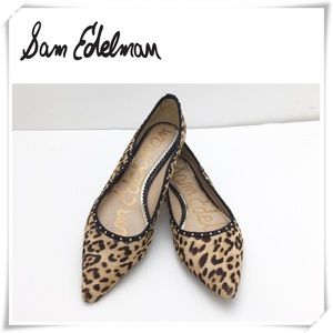 Sam Edelman Rivera Sutd Leopard Belle Flat Shoes